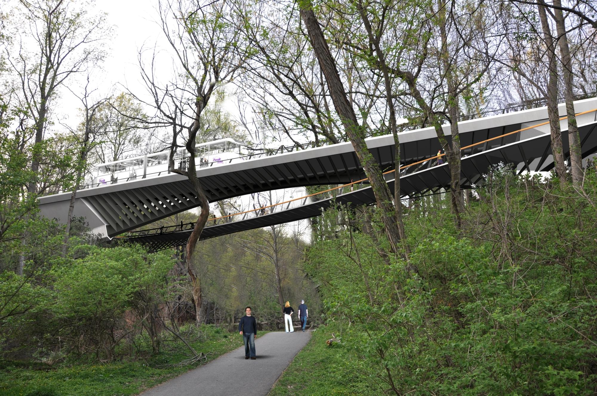 Rock Creek Bridge - View North