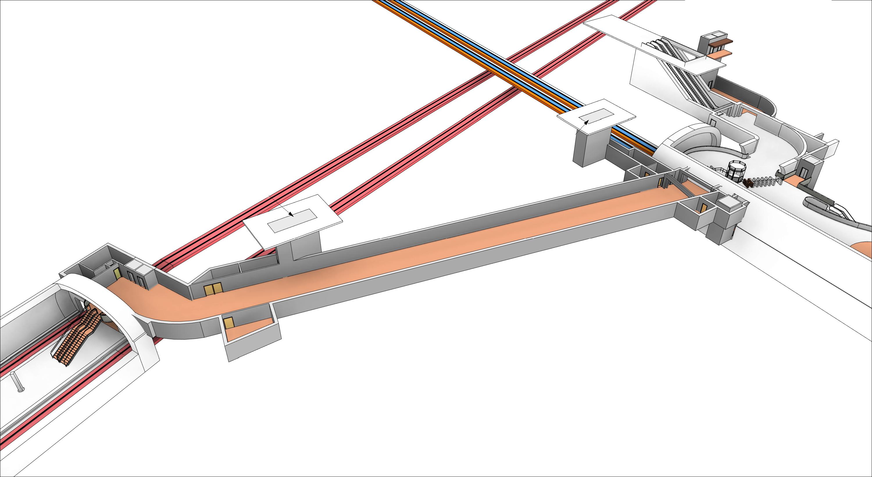 WMATA - Farragut N-W Connection